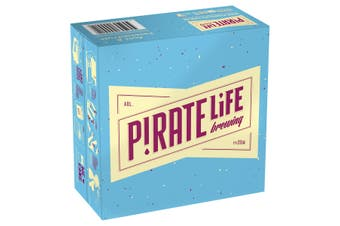 Pirate Life Brewing Acai & Passionfruit Beer Case 16 x 355mL