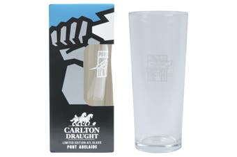 PORT ADELAIDE POWER AFL 425ML BOXED GLASS