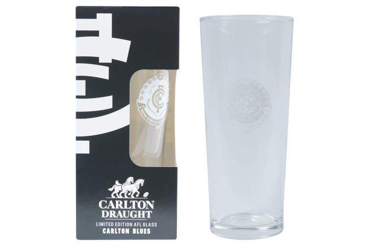 CARLTON BLUES AFL 425ML BOXED GLASS
