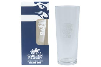 GEELONG CATS AFL 425ML BOXED GLASS