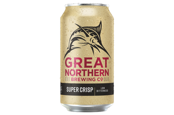Great Northern Super Crisp Lager Beer 48 x 375ml Cans