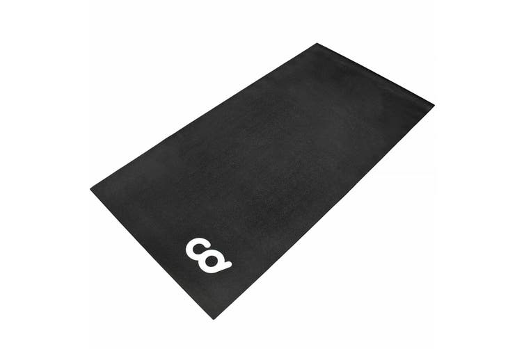Bicycle Trainer Floor High Density Exercise Spin Bike Mat (30-inch x 72-inch)