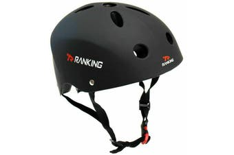 RANKING BMX Bike Helmet Black Large
