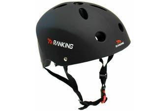 RANKING BMX Bike Helmet Black M