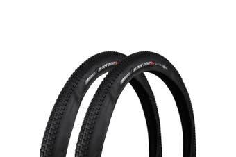 "2 x KENDA K1047 Small Block Eight Pro Mountain Bike MTB XC Folding Tyre DTC 27.5x2.1 """