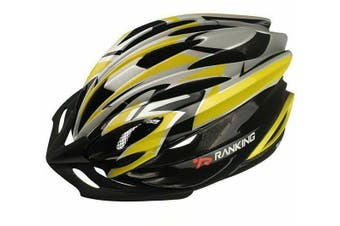 RANKING M72 Bike Adult Helmet YELLOW M