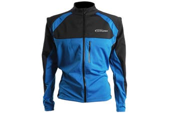 Cycling Bicycle Bike Jersey Wind Rain Jacket Vest Blue XL