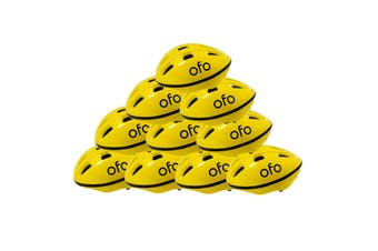 10 X OFO Helmet Unisex For Cycles Skateboards Roller Skates Kick-Scooters - Adjustable 54-58 cm