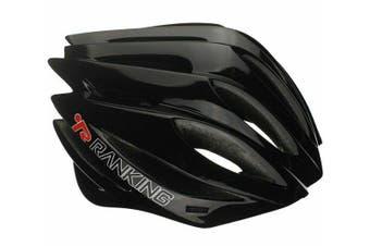 RANKING Pro Road Bike Bicycle Cycling Adult Helmet Black M
