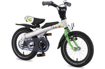 "Rennrad Convertible 2 in 1 Balance/Pedal Kids Bike 14 Green"""