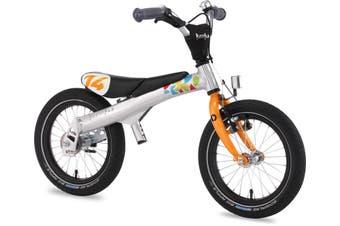 "Rennrad Convertible 2 in 1 Balance/Pedal Kids Bike 14 Orange"""