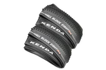"""2 x KENDA Small Block Eight K1047 Pro Mountain Bike XC Folding Tyre 29x2.1"""",Kenda XC racing tyre with lots of speed and grip. Well suited for a variety of riding conditions.  Spec:    2 Tyres in the Package   Size: 29"""""""" x 2.1"""