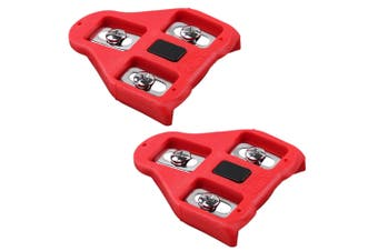 VP Bike Cleats Compatible with Look Delta - Indoor Cycling & Road Bike Bicycle Cleat Set - Fully Identical or Compatible with Peloton Spin Bikes Pedals and Shoes  (9 Degree Float)