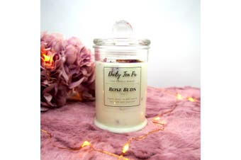 Rose Buds Scented Soy Candle - Mini (150g)