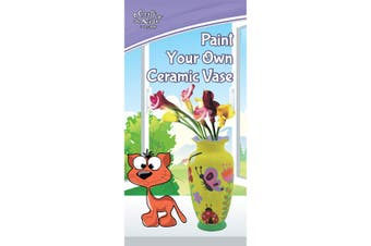Paint Your Own Ceramic Vase