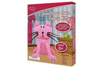 Sew Your Own Fabric Kitty
