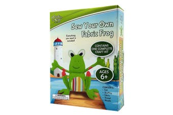 Sew A Fabric Frog
