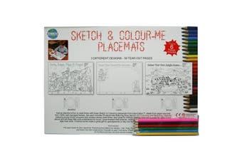Sketch & Colour Placemats