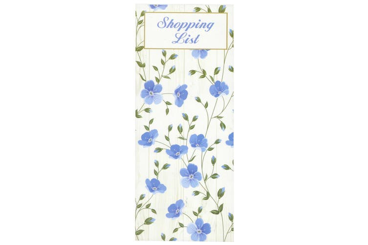 Scribbles Stationery Exquisite Floral Shopping List Notepad