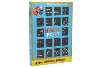 17 Metal Puzzles