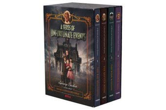 A Series Of Unfortunate Events Books 1-4 Netflix Tie-In Boxset