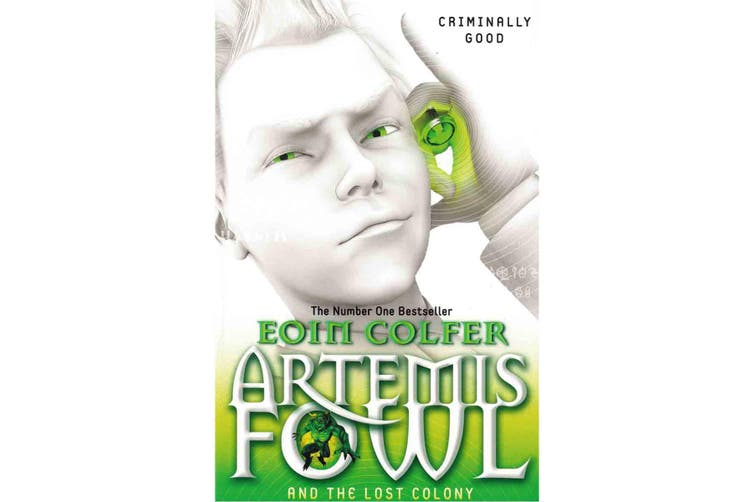 Artemis Fowl 8 Book Collection