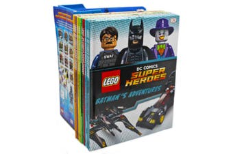 LEGO DC Comics Collection -- 10 Books With Limited Mini-Figurine