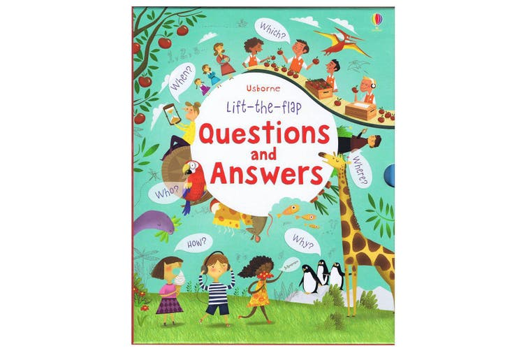 Lift-the-flap Questions & Answers Box Set
