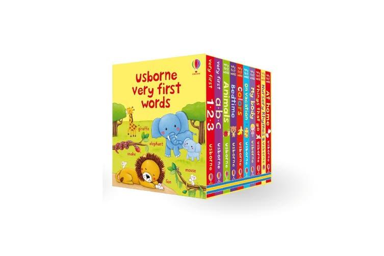 Usborne Very First Words Box Set