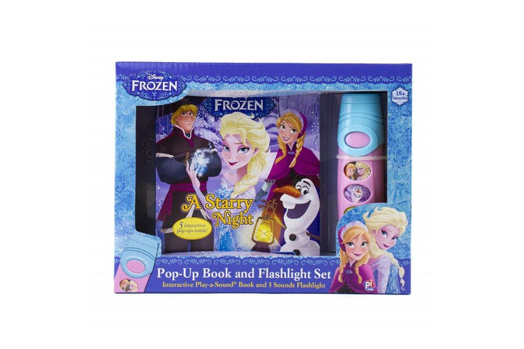 Disney Frozen - Pop-Up Book and Flashlight Set