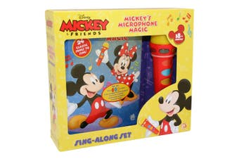Mickey & Friends Microphone Book Box