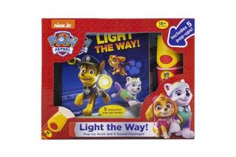 Paw Patrol - Pop-Up Book and 5-Sound Flashlight