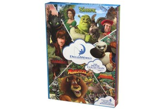 Dreamworks 4 Book Slipcase + Poster