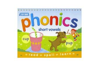 Phonics Flip Chart - Short Vowels