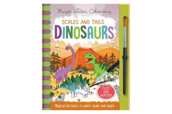 Magic Water Colouring Scales and Tails Dinosaurs