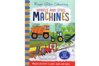 Magic Water Colouring Wheels & Steel Machines