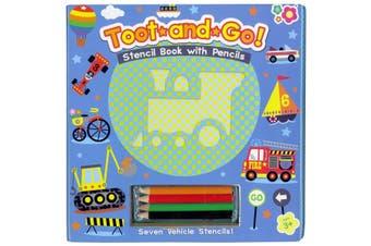 Toot & Go Stencil Book