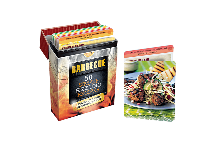 Barbecue Recipe Cards 50 Simple Sizzling Recipes