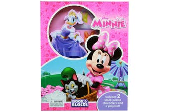 Disney Minnie - Book & Blocks