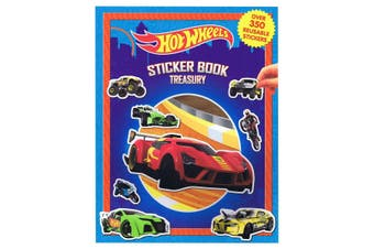 Hot Wheels Sticker Book Treasury