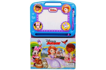 Disney Junior - Learning Book with Magnetic Drawing Pad
