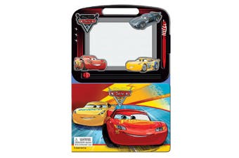 Cars 3 - Learning Book with Magnetic Drawing Pad