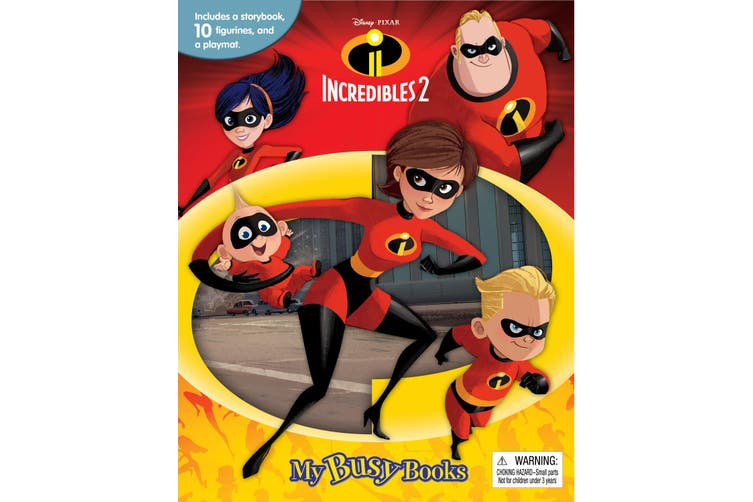 Incredibles 2 - My Busy Books
