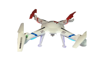 LS-127 Drone - 2.4G, 4 Channel, 6 axis RC Quadcopter with LCD Controller & Camera