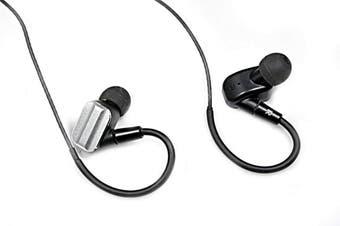 Acoustic Research AR-E100 Hi Fidelity Hi-Res In-Ear Earphones