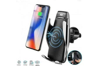 Car Wireless Charger with Automatic Sensor for iPhones & Smartphones