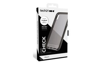 Tech 21 Smokey Black Case for iPHONE X