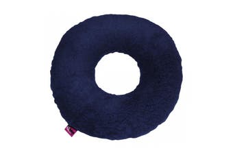 Ubio Round Donut Cushion, Navy