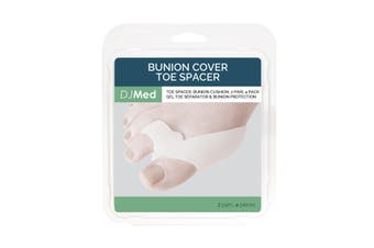 DJMed Bunion Protector & Toe Spacer