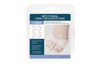 DJMed Metatarsal Open Toe Sleeve Pads